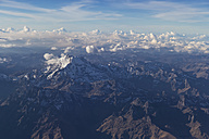 Peru, aerial view of the Andes - FOF08724