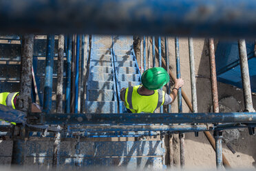 Construction worker on a construction site - ZEF12463
