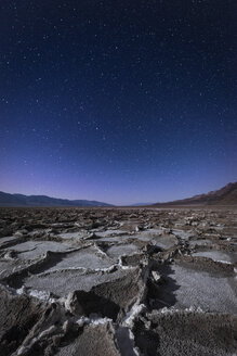 USA, California, Death Valley, Badwater Basin at night - EPF00287