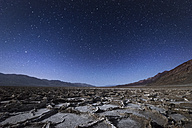 USA, California, Death Valley, Badwater Basin at night - EPF00290