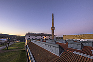 Germany, Lower Saxony, Alfeld, UNESCO World Heritage site Fagus Factory in the evening - PVC00964
