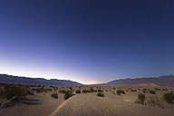 USA, California, Death Valley, sand dunes at night - EPF00302