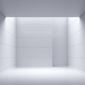 Empty room, 3D Rendering - UWF01112