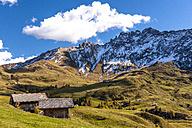Italy, South Tyrol, Seiser Alm, Rosszaehne - EGBF00211