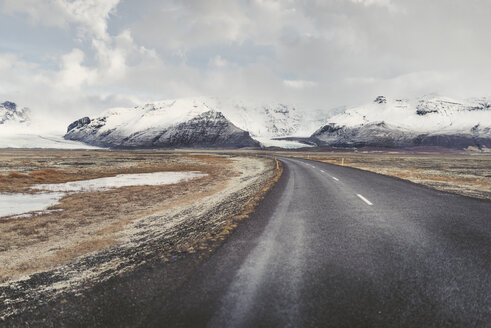 Iceland, empty country road - EPF00312