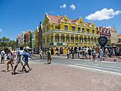 Curacao, Willemstad, Punda, Handelskade, historical building - AM05240