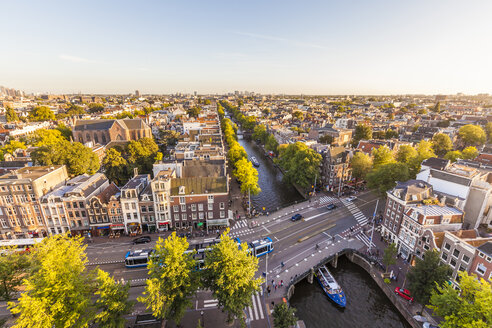 Netherlands, Amsterdam, view to the city from above - WDF03876