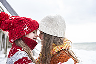 Sisters having fun in winter - FSF00755