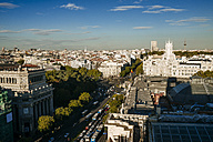 Spain, Madrid, cityscape with Alcala street - KIJF01174