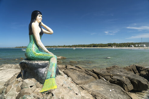 Myanmar, Ngwesaung, Lovers Island, Mermaid and the beach - PC00329