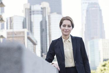 Portrait of confident businesswoman - WESTF22591