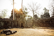 Cambodia, Angkor, Ta Prohm temple, Tomb Raider film location - REAF00190