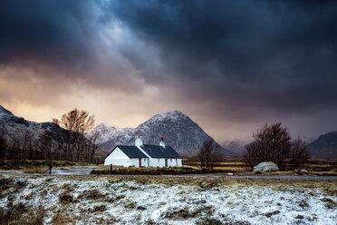 UK, Scotland, Glencoe, Black Rock Cottage - SMAF00662