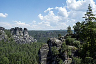 Germany, Saxony, Elbe Sandstone Mountains, Rock formations - LMF00595