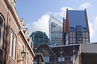 Netherlands, The Hague, old buildings and modern architecture - WIF03397