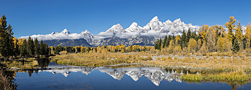 USA, Wyoming, Rocky Mountains, Teton Range, Grand Teton National Park, scenic - FOF08886