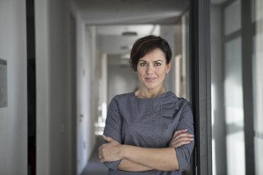 Portrait of confident businesswoman - RBF05648