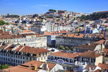 Portugal, Lisbon, view to the city from above - VT00589