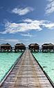 Maledives,South Male Atoll, Beach bungalows - JLRF00091