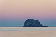 UK, Scotland, Bass Rock, sunset - SMAF00688