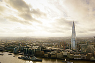 UK, London, cityscape with River Thames and The Shard - BRF01417