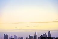 UK, London, skyline in morning backlight - BRF01423
