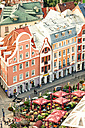 Latvia, Riga, view on the old town with Jugendstil houses - CST01329