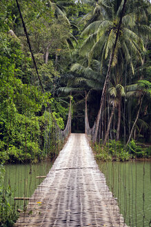 Indonesia, Java, suspension bridge - KNTF00665