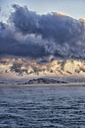 Arctic Ocean, clouds above the Barents Sea - DSGF01550