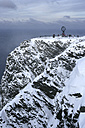 Norway, globe at the North Cape - DSGF01562