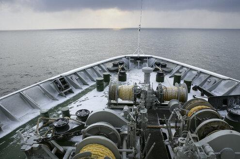 Arctic Ocean, ship on Barents Sea - DSGF01565