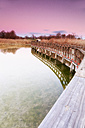 Spain, Daimiel, sunset at Tablas de Daimiel National Park - DSGF01574