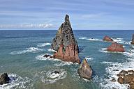 Portugal, Madeira, nature reserve Ponta de Sao Lourenco, peninsula on the east coast - RJF00662