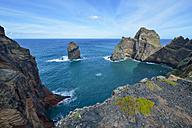 Portugal, Madeira, nature reserve Ponta de Sao Lourenco, peninsula on the east coast - RJF00665