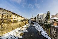 Germany, Bavaria, Prien am Chiemsee in winter - THAF01917