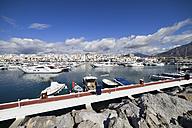 Spain, Andalucia, Marbella, Puerto Banus resort marina on Costa del Sol at Mediterranean Sea - ABOF00175