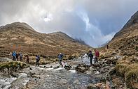UK, Scotland, Glencoe, trekking at Sron na Lairig - ALRF00865