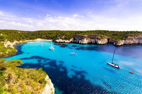 Spain, Menorca, Cala Macarella - SMAF00699