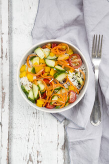 Rice salad with mixed vegetables - LVF05943