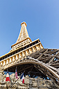 USA, Nevada, Las Vegas, Strip, Eiffel Tower - FOF09105