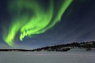 Canada, Yellowknife, Northern lights - TOVF00071