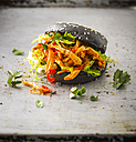 Black Bun Pulled Chicken Burger - KSWF01792