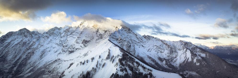 Germany, Bavaria, Berchtesgaden, Hoher Goell at sunrise - STCF00286