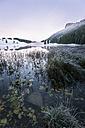 Austria, Sankt Koloman, Seewaldsee in winter - STCF00292