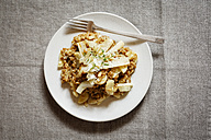 Spelt risotto with salsifies, pine nuts and parmesan - EVGF03172