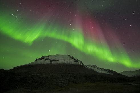 Iceland, scenery with Aurora Borealis - EPF00411