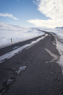 Iceland, empty country road - EPF00413