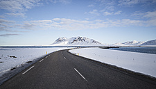Iceland, empty country road - EPF00416