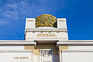 Austria, Vienna, top of Secession exhibition building - WD03980