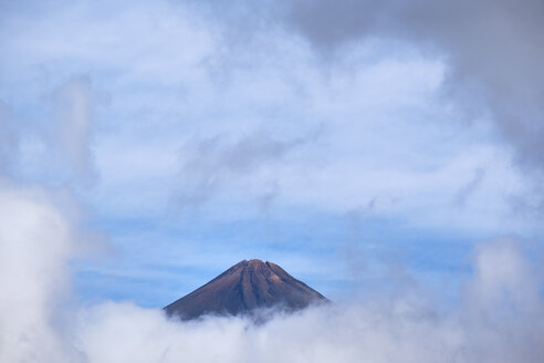 Spain, Canary islands, Tenerife, Pico del Teide seen from west - SIEF07386